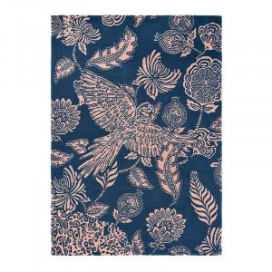 Covor multicolor din lana TB Loran-Navy Brink & Campman (diverse dimensiuni)