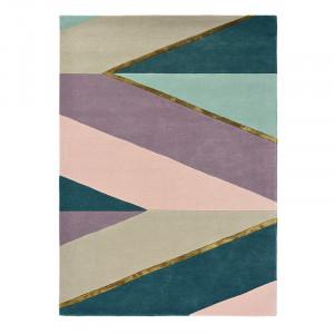 Covor multicolor din lana TB Sahara-Pink Brink & Campman (diverse dimensiuni)