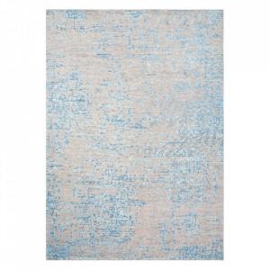 Covor multicolor din viscoza si lana Reflect Blue Ligne Pure (diverse dimensiuni)