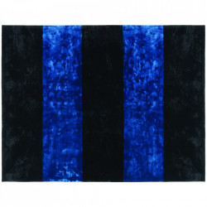 Covor negru/albastru din matase 300x400 cm Pavilion Normann Copenhagen