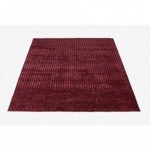 Covor rosu din lana 240x170 Pin Bordeaux Bolia