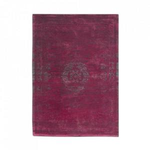 Covor rosu stacojiu din bumbac Fading World Scarlet Louis de Poortere (diverse dimensiuni)