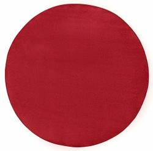 Covor rotund rosu Fancy Uni Hanse Home