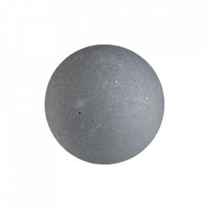 Cuier gri din ciment Lapis Bolia