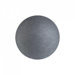 Cuier gri inchis din ciment Lapis Bolia