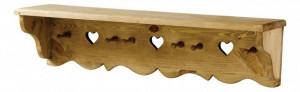Cuier maro din lemn de pin Terroir Lungo Zago