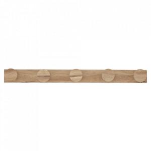 Cuier maro din lemn Yve Bloomingville