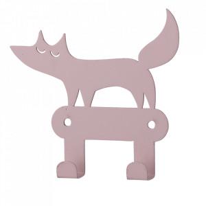 Cuier roz din fier Fox Bloomingville