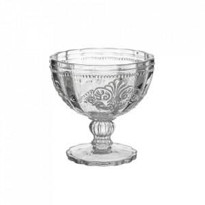 Cupa pentru inghetata transparenta din sticla Damasco Unimasa