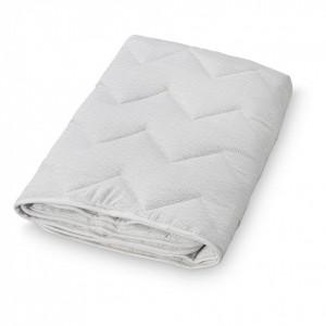 Cuvertura matlasata din bumbac pentru copii 100-100 cm Diaz Grey Wave Cam Cam