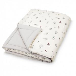 Cuvertura matlasata din bumbac pentru copii 90x120 cm Giulia Holiday Cam Cam