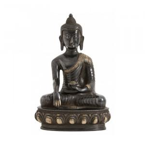 Decoratiune din alama 25 cm Buddha Nordal