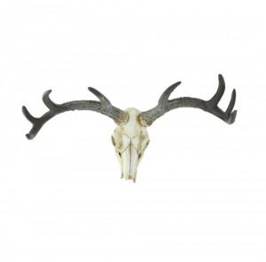 Decoratiune din polirasina pentru perete 21x32 cm Skull LifeStyle Home Collection