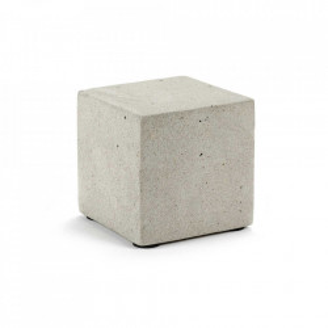 Decoratiune gri din beton 10 cm Shape Serax