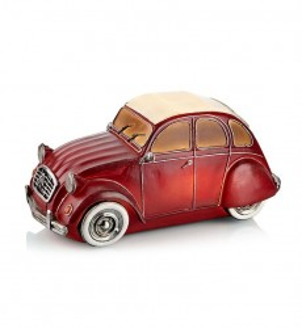 Decoratiune luminoasa LED rosie din rasina Nostalgi Car Markslojd