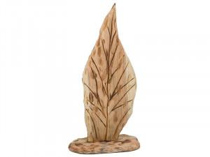 Decoratiune maro din lemn de brad 42 cm Native Santiago Pons