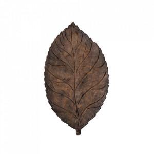 Decoratiune maro din lemn de mango 2 cm Adalie Creative Collection