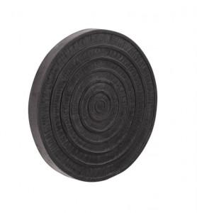 Decoratiune neagra din lemn de mungur pentru perete 50 cm Salome La Forma