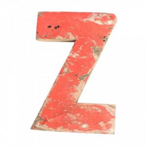 Decoratiune rosie din lemn 18 cm Z Raw Materials