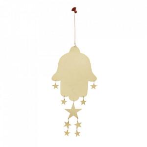Decoratiune suspendabila aramie din fier 40 cm Bealieu Madam Stoltz