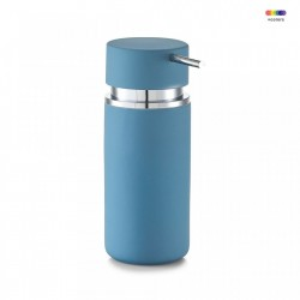 Dispenser sapun lichid albastru din ceramica 300 ml Rubber Zeller