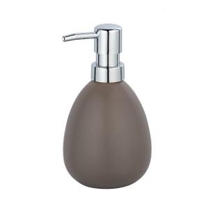 Dispenser sapun lichid grej din ceramica 390 ml Polaris Wenko