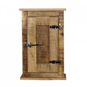 Dulapior pentru perete maro din lemn de mango Frigo Sit Moebel