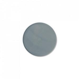 Farfurie albastra din portelan 13,5 cm Norm Menu