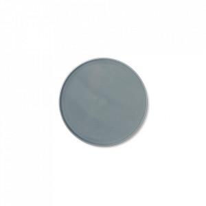 Farfurie albastra din portelan 17,5 cm Norm Menu