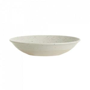 Farfurie bej nisipiu din ceramica 22,5 cm Grainy Soup Nordal