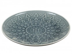 Farfurie din portelan 26 cm Azul Natural Santiago Pons