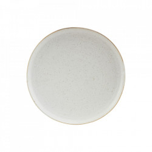 Farfurie intinsa gri/alba din portelan 21,5 cm Pion House Doctor