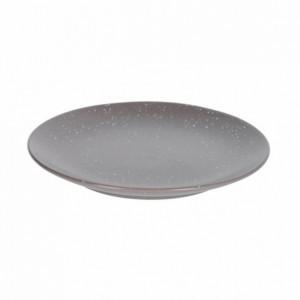Farfurie pentru desert gri inchis din ceramica 20,5 cm Aratani Kave Home