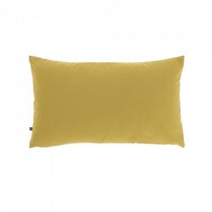 Fata de perna galbena din fibre acrilice si in 30x50 cm Nedra La Forma