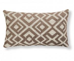 Fata de perna maro din textil 30x50 cm Malani La Forma