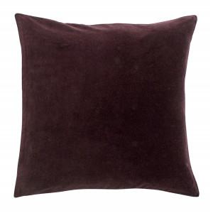 Fata de perna rosu burgund din catifea 50x50 cm Dream Nordal