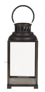 Felinar din fier si sticla 38 cm Benji LifeStyle Home Collection