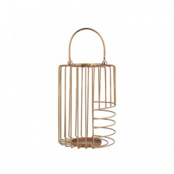 Felinar maro alama din metal 31 cm Dale Brass Small LifeStyle Home Collection