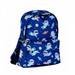 Ghiozdan albastru din poliester Astronauts S A Little Lovely Company