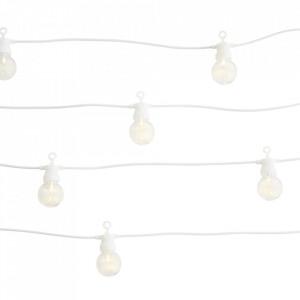 Ghirlanda luminoasa exterior LED alba/transparenta din plastic Outdoor Strings Light Madam Stoltz