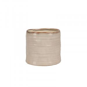 Ghiveci crem din ceramica 15 cm Yori Lifestyle Home Collection