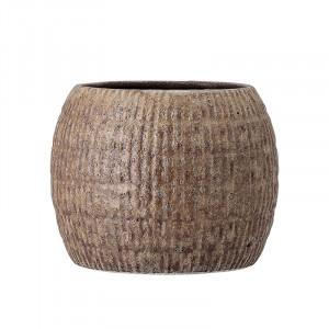Ghiveci maro din ceramica 13,5 cm April Bloomingville
