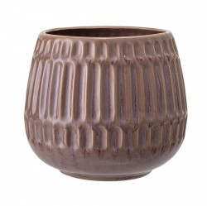 Ghiveci maro din ceramica 14,5 cm Brown Bloomingville