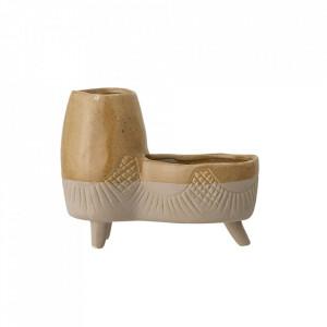 Ghiveci maro din ceramica 16,5x20,5 cm Alice Creative Collection