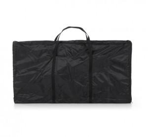 Husa neagra pentru alonja din textil 80x120 cm Oakland Kave Home