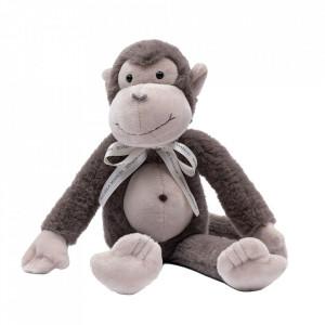 Jucarie maro din poliester Monkey Louie Riviera Maison