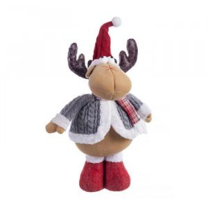 Jucarie multicolora din textil Reindeer Unimasa