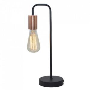 Lampa birou neagra din otel 39 cm Herpe Candellux