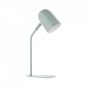 Lampa birou verde din metal 38 cm Tong Brilliant