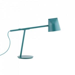 Lampa birou verde petrol din metal cu LED 44 cm Momento Normann Copenhagen